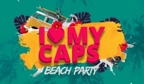 I Love My Caps Beach Party