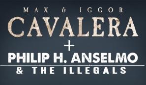 Combo Metal - Max e Iggor Cavalera + Phil Anselmo & The Illegals