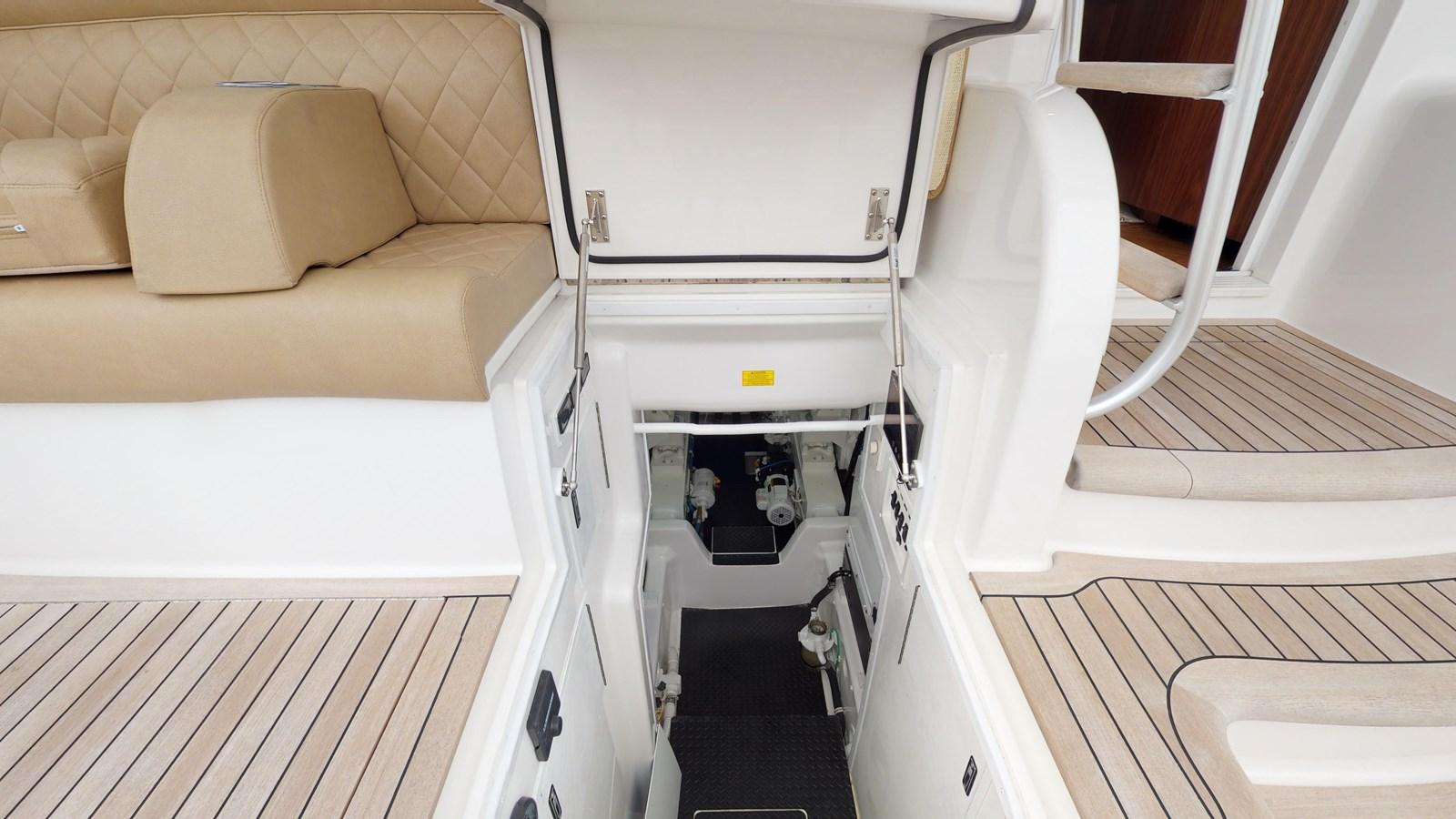 Engine Room Entry - 62 VIKING For Sale