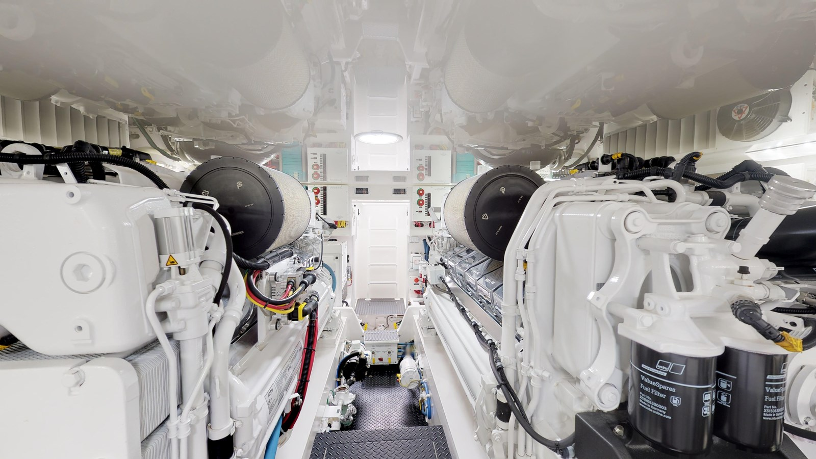 Engine Room - 62 VIKING For Sale