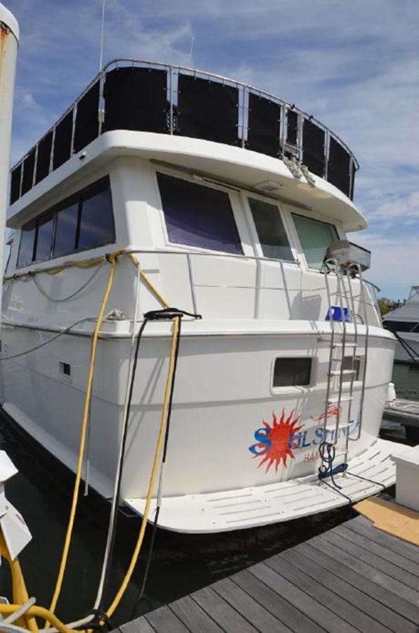 Port Stern - 54 HATTERAS For Sale