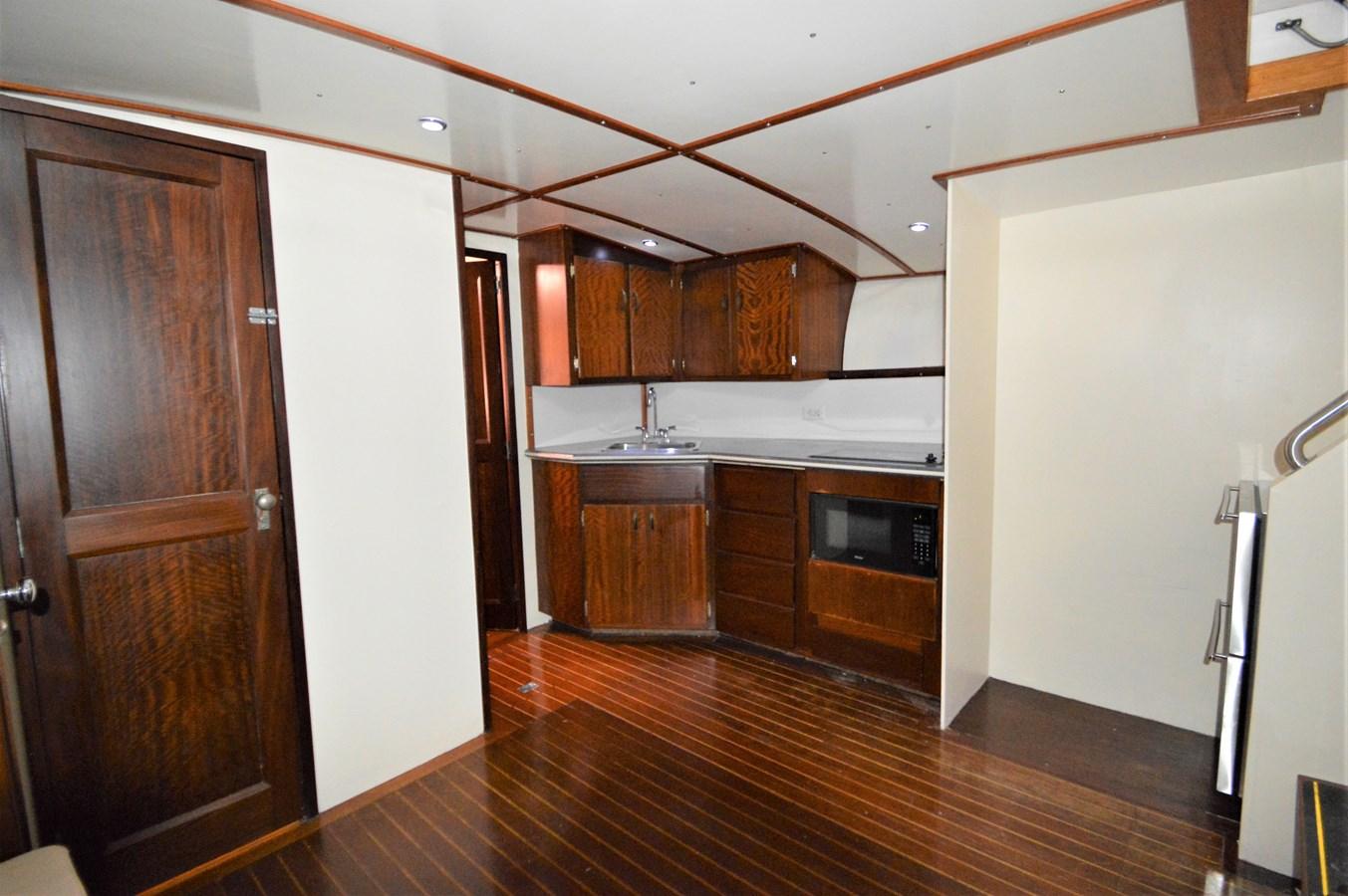 Interior - 45 HATTERAS For Sale