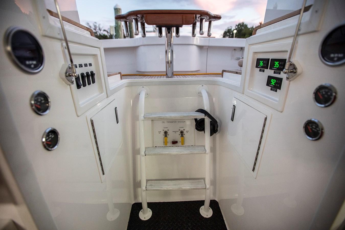 48 Viking Engine Room Ladder - 48 VIKING For Sale