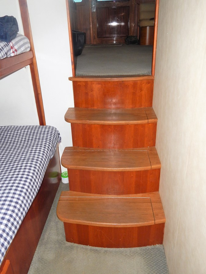 Companionway Steps - 56 Perdue For Sale
