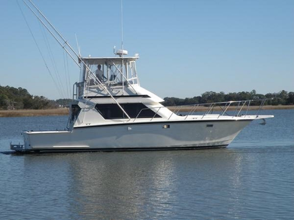 1988 Hatteras 41 Convertible - 41 HATTERAS For Sale