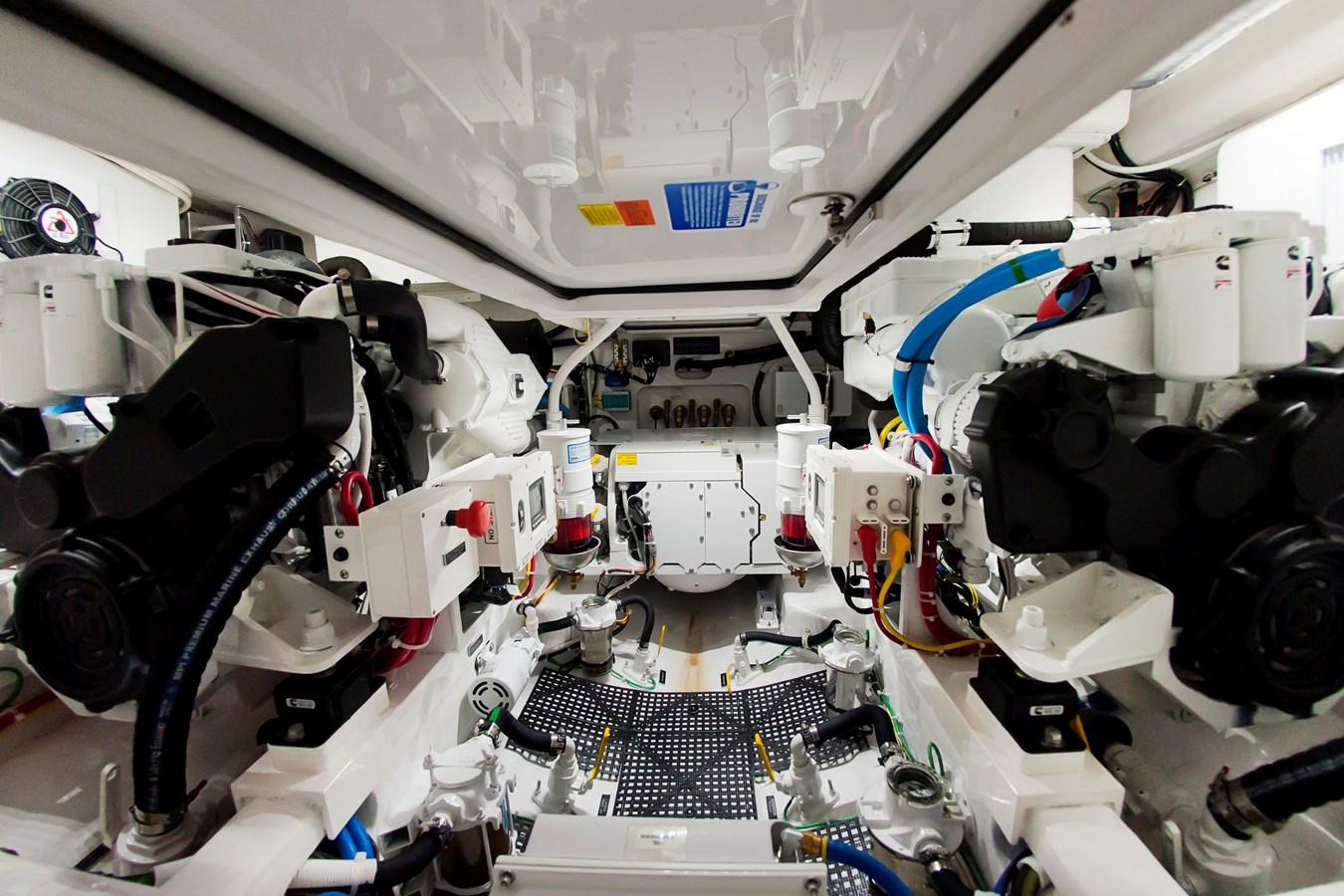 Engine Room - 38 VIKING For Sale