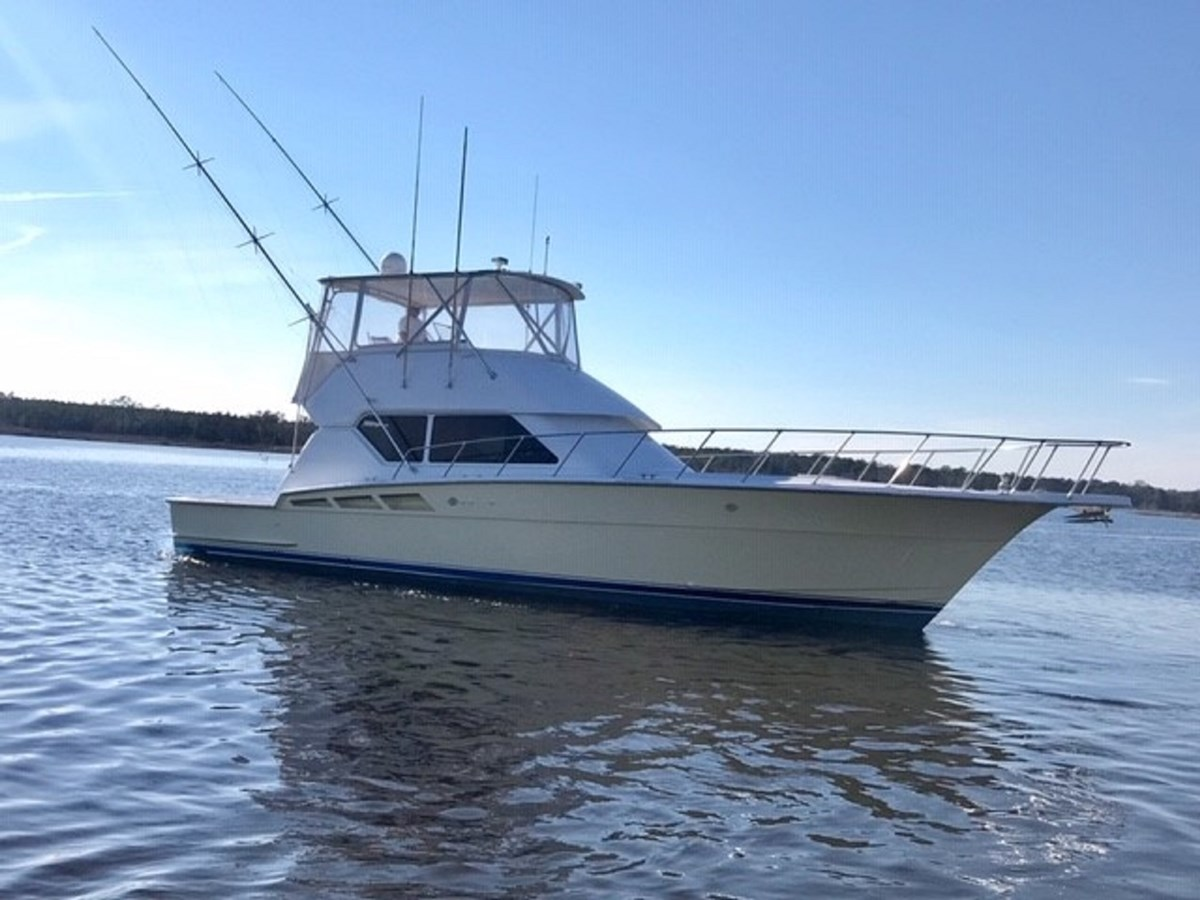 Hatteras 50 Convertible 1998 For Sale In Gloucester Virginia