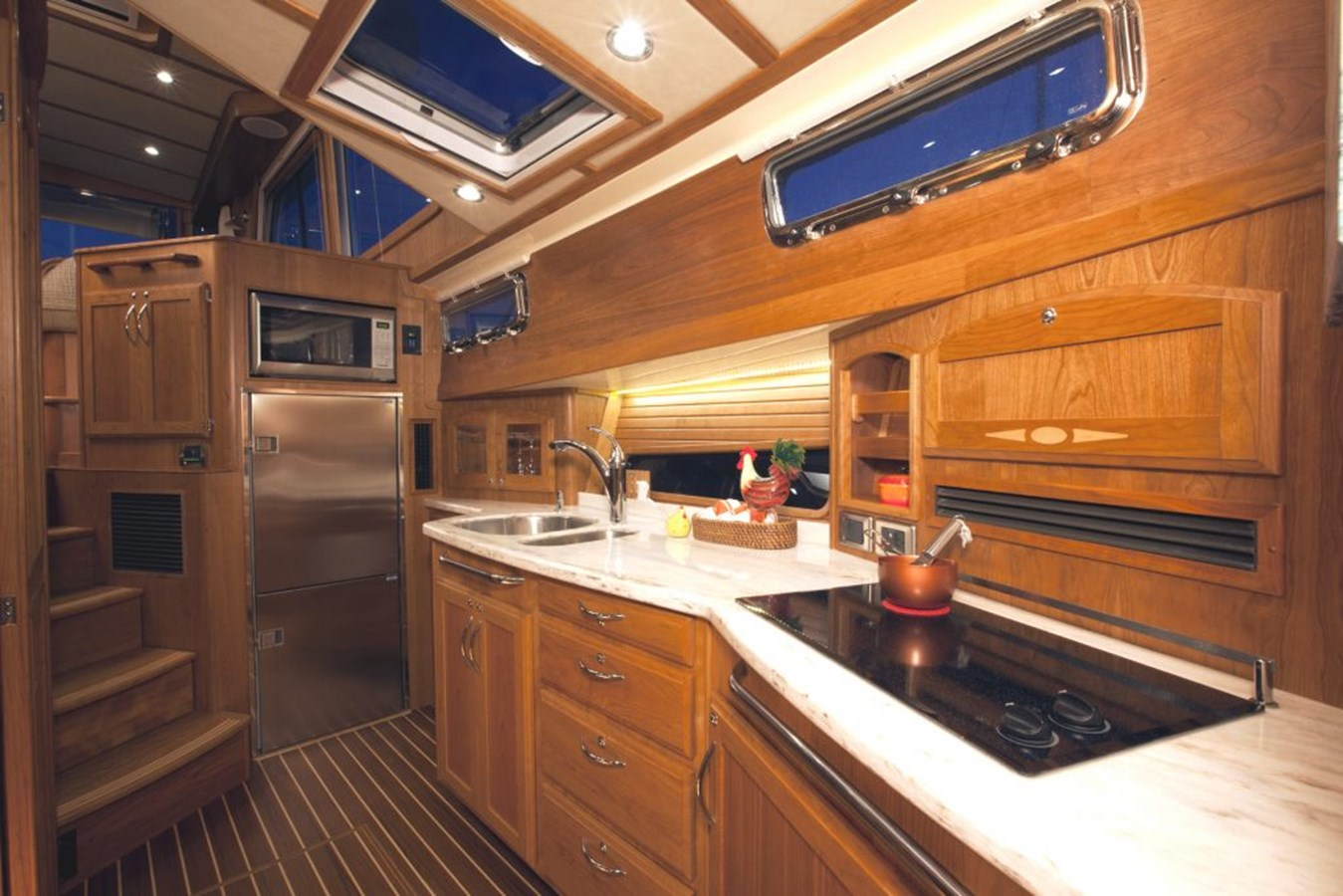 Galley - 48 SABRE YACHTS For Sale