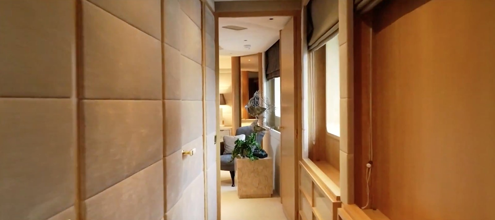 Master Stateroom Hallway - 162 OCEANCO For Sale