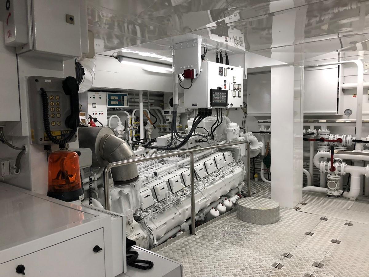 Engine Room - 162 OCEANCO For Sale
