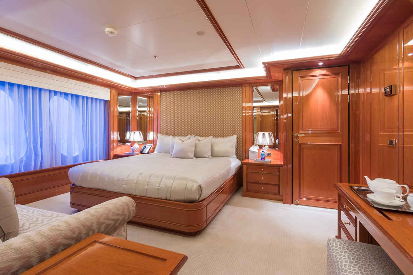 Main Deck Forward VIP Starboard Stateroom - 214 CODECASA For Sale