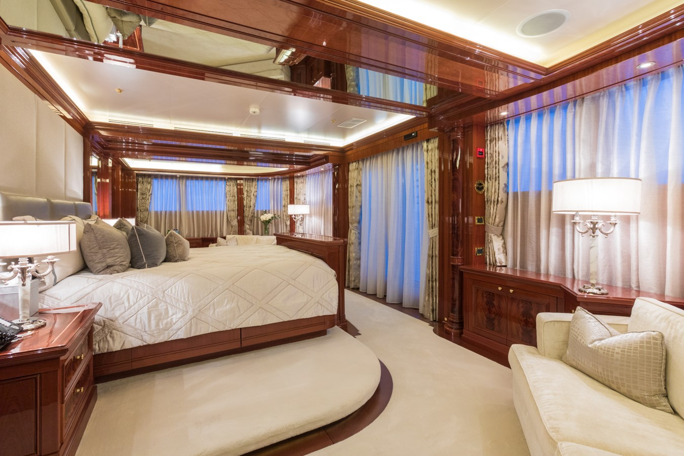 Upper Deck Master Stateroom - 214 CODECASA For Sale