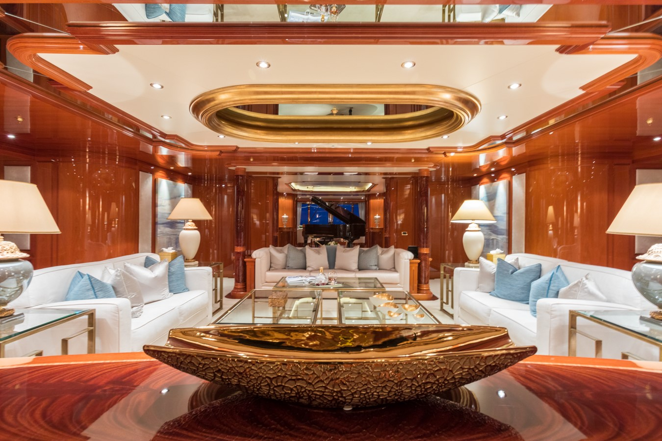 Main Salon Looking Aft - 214 CODECASA For Sale