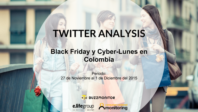 Twitter Analysis: Black Friday y Cyber Monday en Colombia