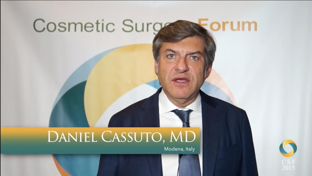 2015 Cosmetic Surgery Forum: Daniel Cassuto, MD