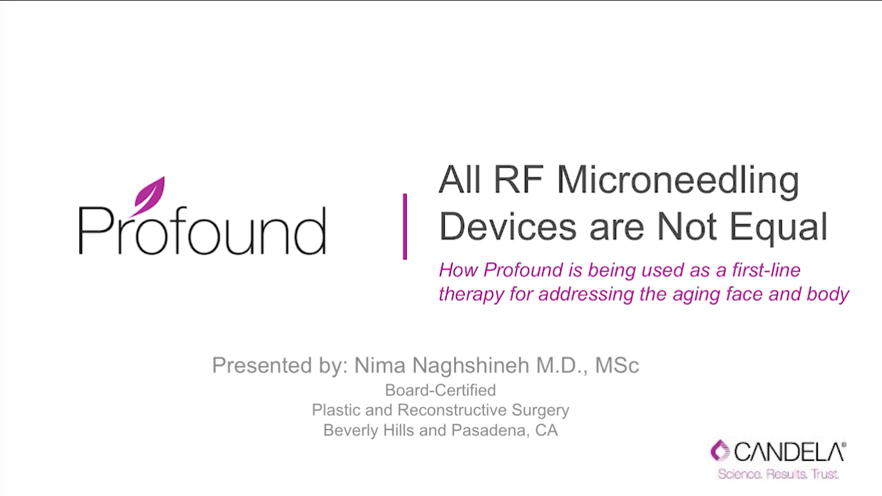 All RF Microneedling Devices are not Equal