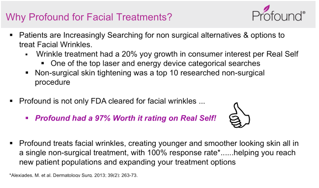 Profound: Dramatic Results for Face & Body