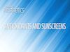 Antioxidants and Sunscreens