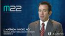 J. Matthew Knight, MD on M22