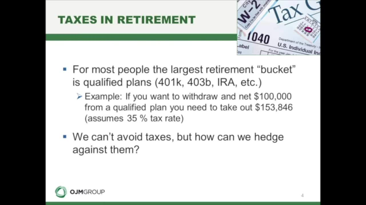 How Will You Pay for Taxes in Retirement