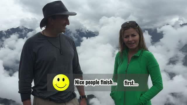 Wondering with Steve and Sabrina: Machu Picchu