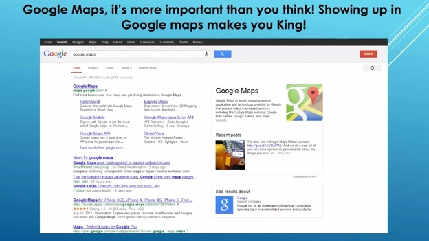 Google Maps: It's More Important Than You Think