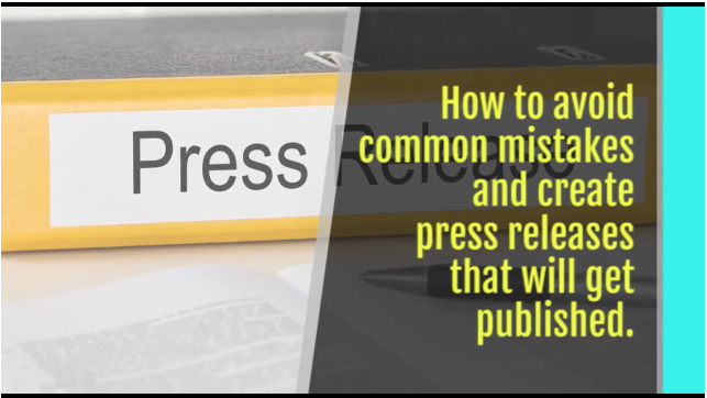 Avoid Common Mistakes: Create Press Releases that Get Noticed