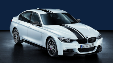 BMW Introduces BMW M Performance Parts for the 3 and 5 Series Sedans.