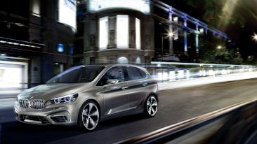 Combines Comfort and Functionality with Dynamic Performance and Style: the BMW Concept Active Tourer.