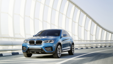 The All-New BMW Concept X4. <br />