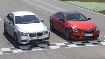 The 2014 BMW M5 and BMW M6 Competition Package<br />