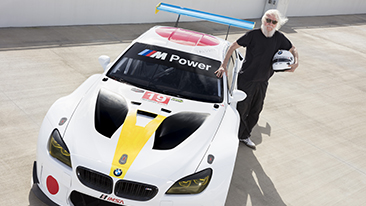 World Premiere of BMW Art Car by John Baldessari at Art Basel in Miami Beach 2016.