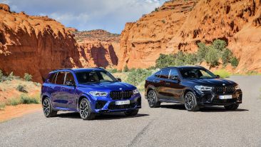 The New 2020 BMW X5 M and X6 M.