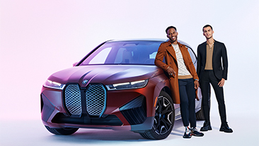 BMW of North America Returns to New York Fashion Week's Spring/Summer '22 shows as Official Automotive Partner.<br />