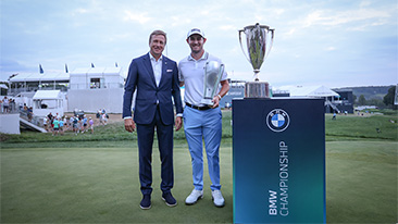 Patrick Cantlay Wins the 2021 BMW Championship at Caves Valley Golf Club in Thrilling Six-Hole Playoff.