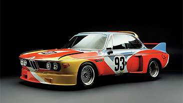 BMW's Art Cars go Digital for the First Time Ever in with Cutting Edge Art App, Acute Art.<br />