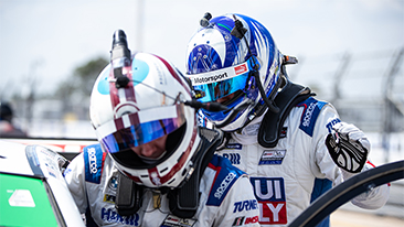 BMW Team RLL qualifies third and fourth for 2021 Twelve Hours of Sebring.<br />