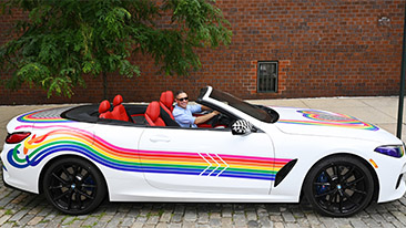 BMW of North America Launches #GoWithPride in Support of WorldPride NYC and the LGBTQIA+ Community.