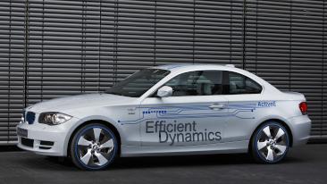 <p>The BMW Concept ActiveE</p>