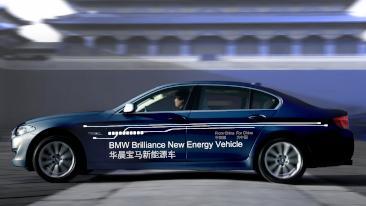Auto Shanghai 2011: BMW Brilliance Automotive Presents Prototype of a Plug-In Hybrid Sedan.