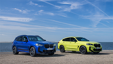 The new 2022 BMW X3 M and X4 M<br />