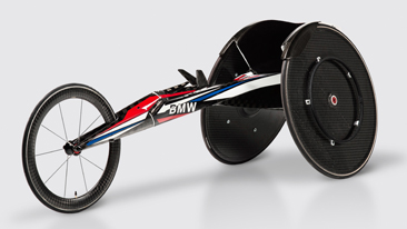 BMW Unveils Team USA Racing Wheelchair for Rio 2016 Paralympic Games