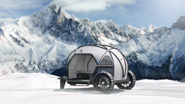 Designworks Collaborates with The North Face to Imagine New Camper Concept