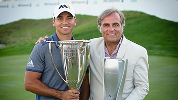 Jason Day Wins the 2015 BMW Championship at Conway Farms Golf Club.