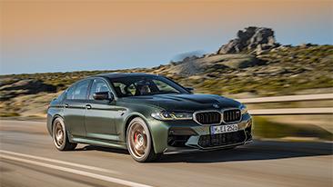 The New 2022 BMW M5 CS Sedan<br />