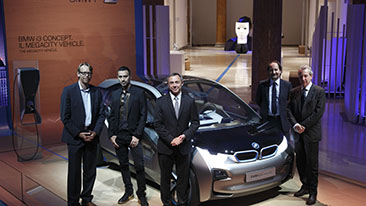 FIRST BMW i BRAND VEHICLES - THE FULLY-ELECTRIC BMW i3 CONCEPT AND HYBRID-ELECTRIC BMW i8 CONCEPT - TO DEBUT AT THE 2011 LA AUTO SHOW