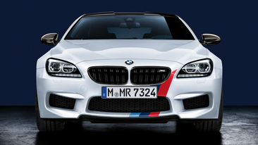 BMW M Performance Parts for the M5 Sedan, M6 Coupe, M6 Convertible and M6 Gran Coupe.<br />