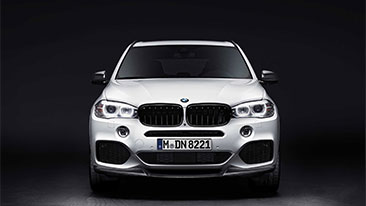BMW Performance Parts Now Available for X5 Sports Activity Vehicle®<br />