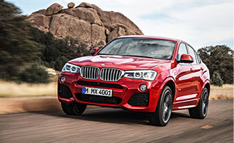 The New BMW X4 Sports Activity Coupe