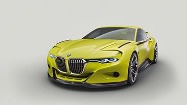 BMW 3.0 CSL Hommage.